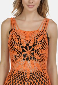IZIA - IZIA HÄKELTOP - Top - orange - 3