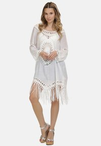 IZIA - IZIA TUNIKAKLEID - Day dress - weiss - 1