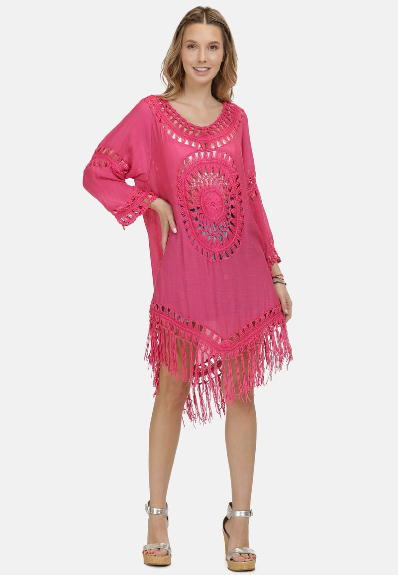 IZIA - IZIA TUNIKAKLEID - Day dress - pink