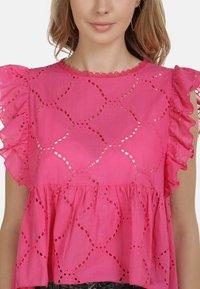 IZIA - IZIA BLUSE - Blouse - pink - 3