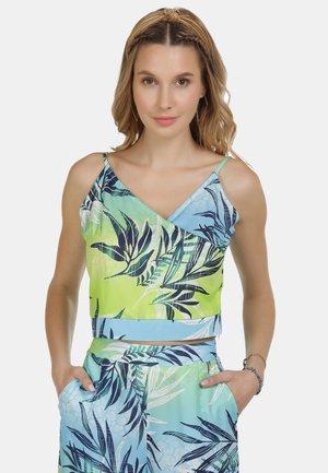 IZIA SPAGHETTI-TOP - Blouse - tropical print