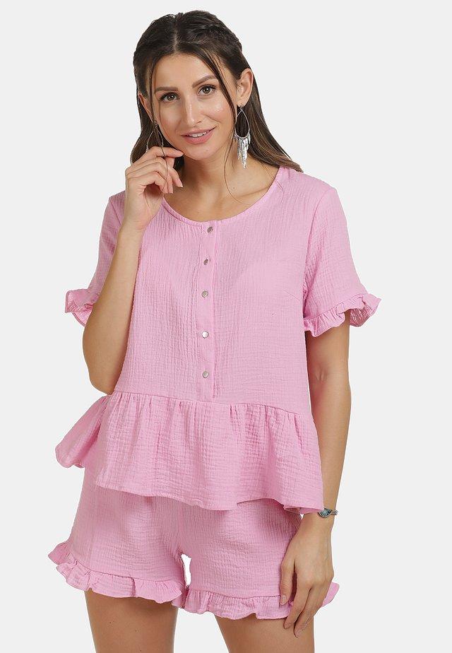 IZIA SHIRT - Bluzka - rosa