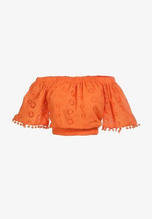 IZIA CARMENBLUSE - Blouse - orange