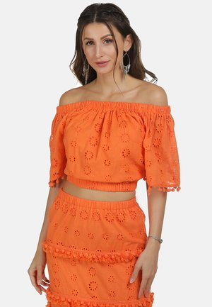 IZIA CARMENBLUSE - Blouse - orange