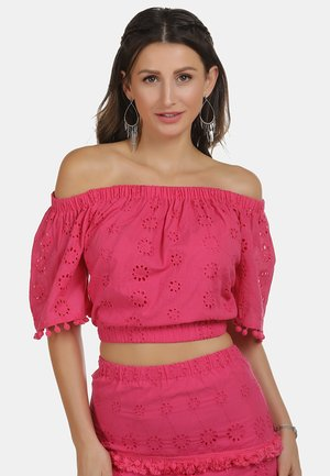 IZIA CARMENBLUSE - Blouse - pink
