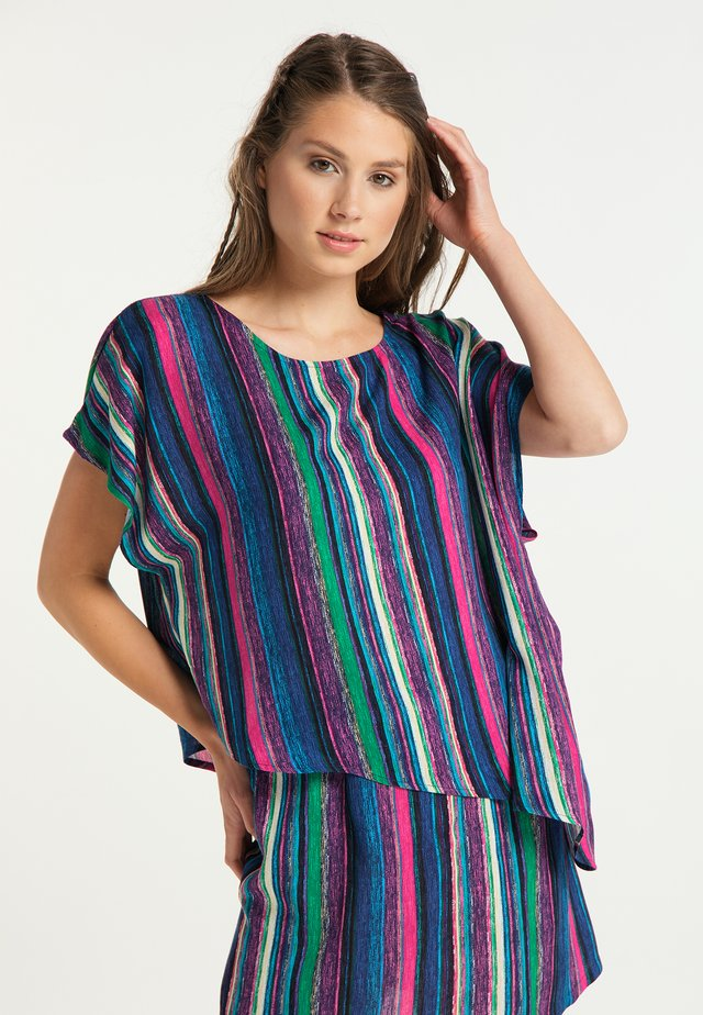 Blouse - multicolor gestreift