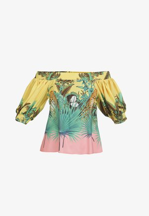 Blouse - tropical print