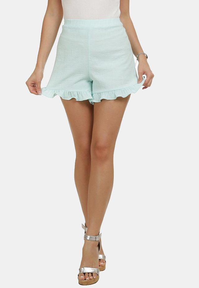 IZIA SHORTS - Shorts - wasser