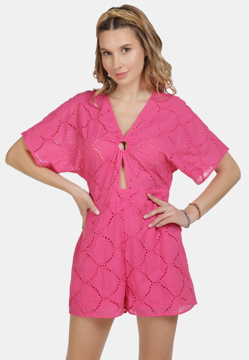 IZIA - IZIA JUMPSUIT - Overall / Jumpsuit - pink
