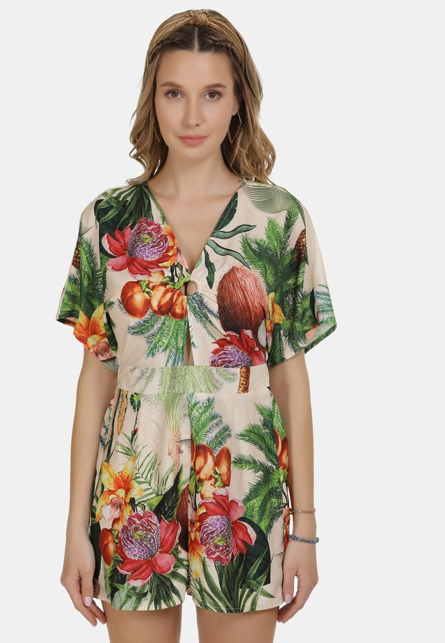 IZIA JUMPER - Overall / Jumpsuit - tropical print