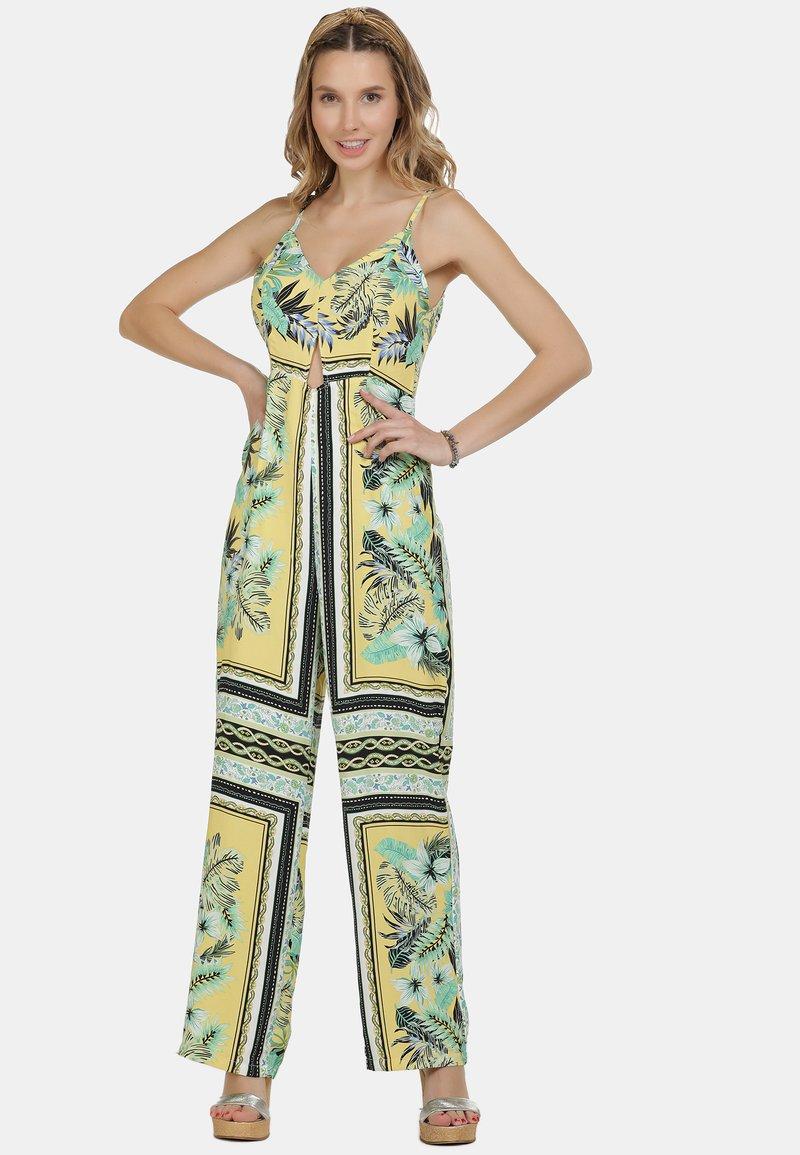 IZIA - IZIA JUMPSUIT - Jumpsuit - tropical print