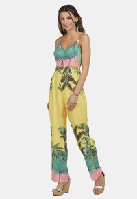 IZIA - Jumpsuit - tropical print - 1