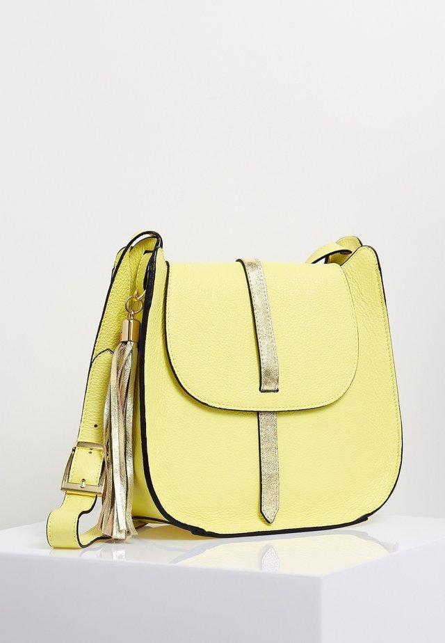 Across body bag - lemon