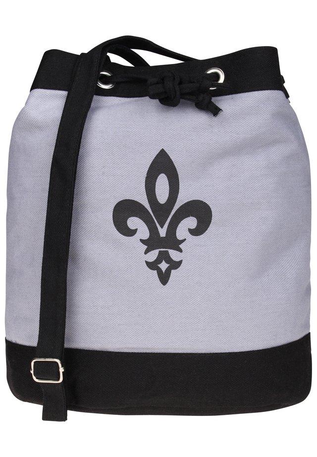 Handbag - schwarz-grau