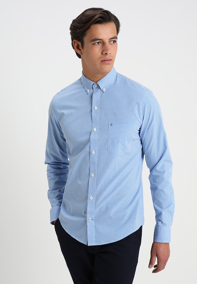 IZOD - GINGHAM - Shirt - blue revival