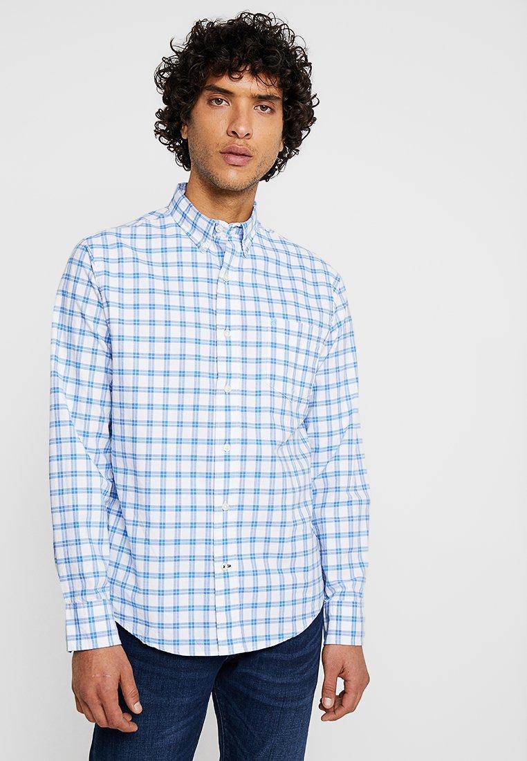 IZOD - SHIRTS OXFORD CHECK - Camisa - bright white