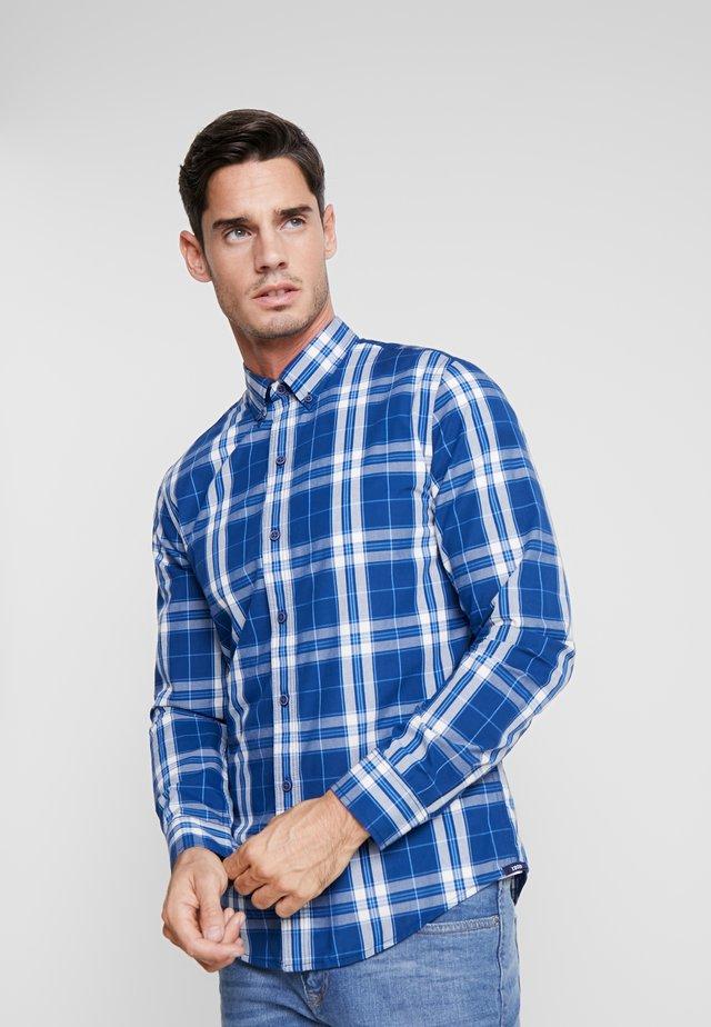 GLENCHECK - Shirt - estade blue