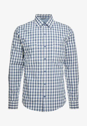 WASHED GINGHAM SHIRT RELAXED CLASSICS FIT - Shirt - cadet navy
