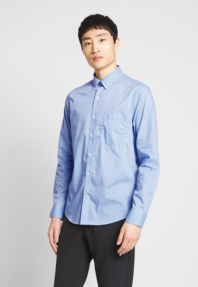 SHELL PRINT - Shirt - clear blue