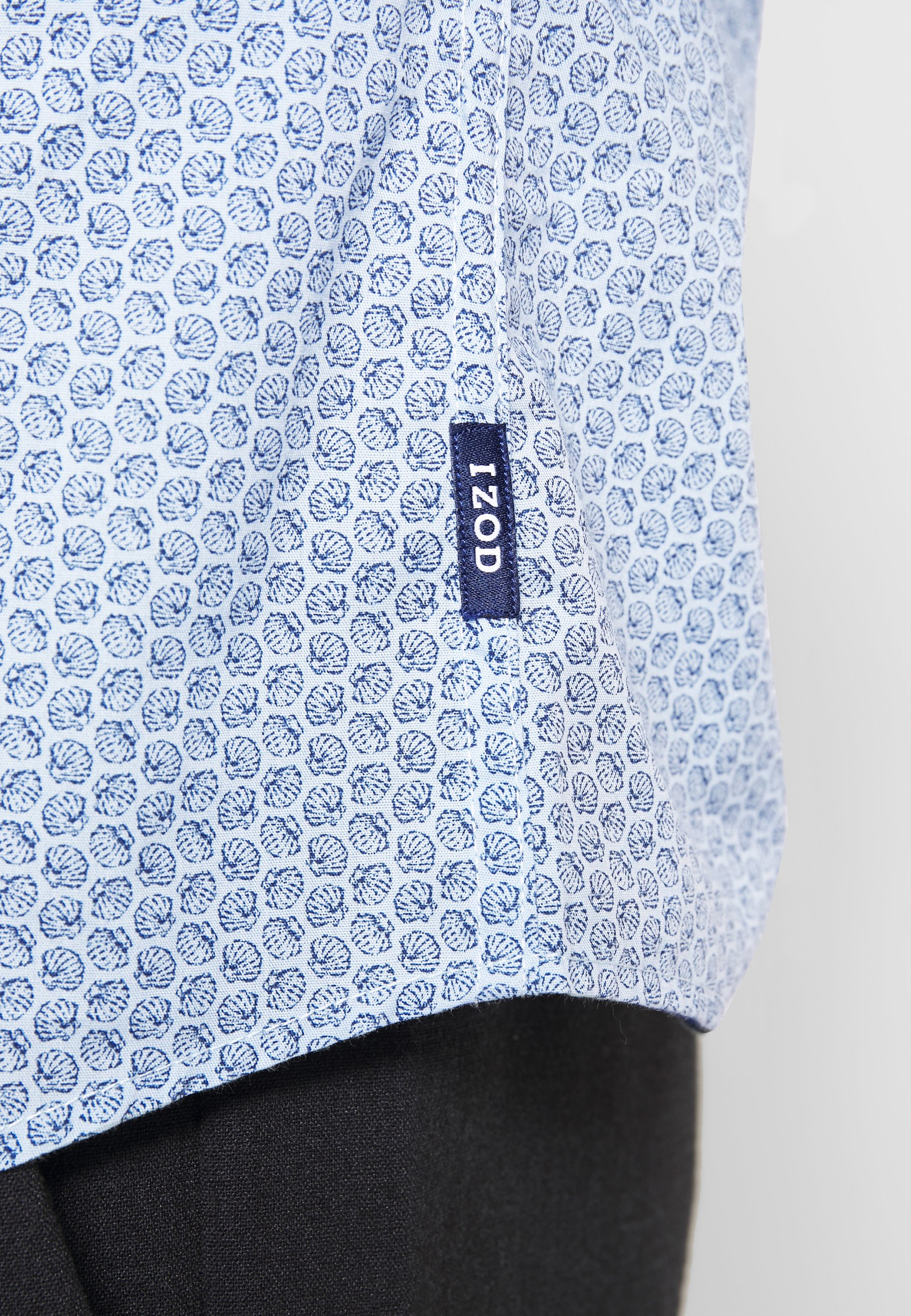 Izod Shell Print - Chemise Clear Blue