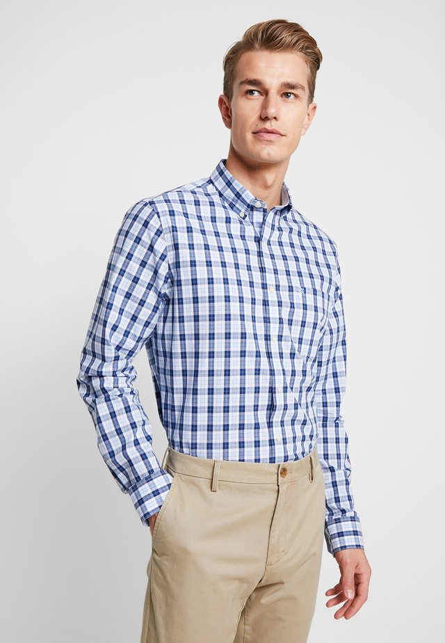 PLAID SHIRT - Camicia - estade blue