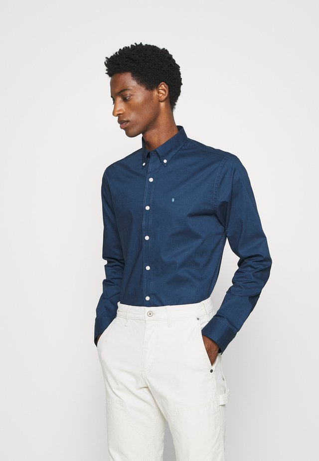 POPLIN SOLID - Businesshemd - cadet/navy