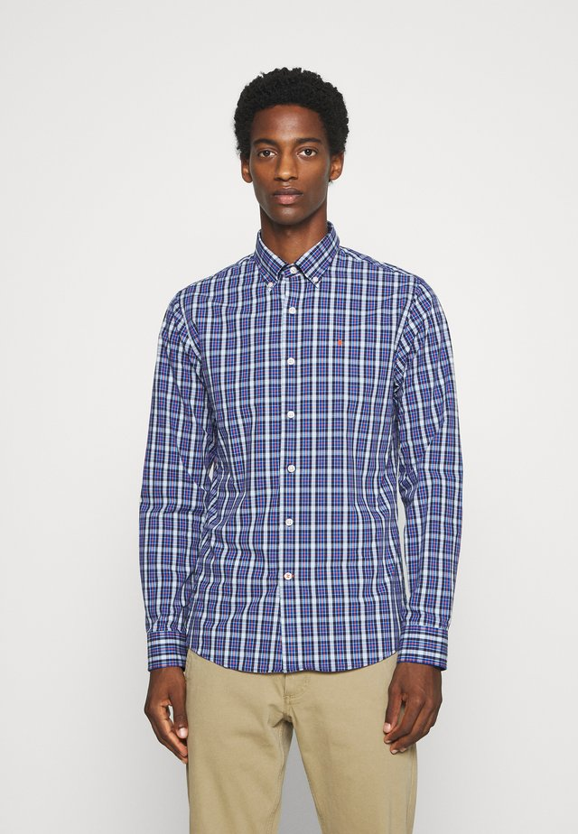 PLAID SHIRT - Hemd - turkish sea