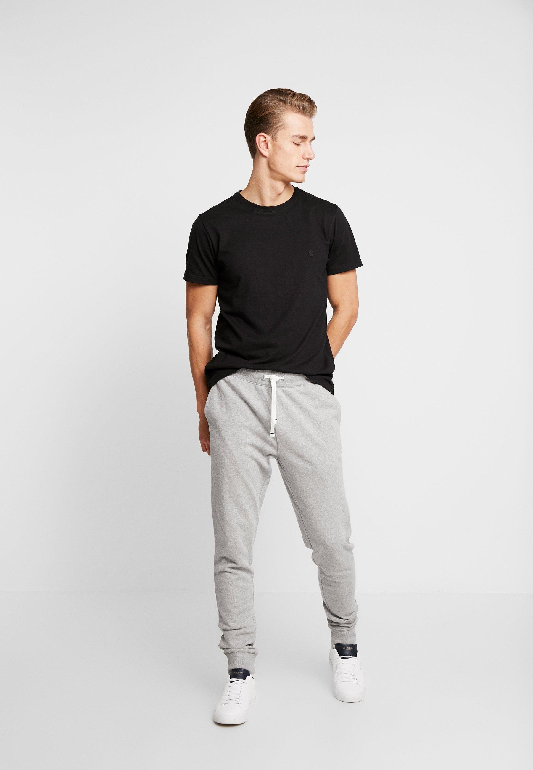 IZOD PANT - Spodnie treningowe - light grey heather