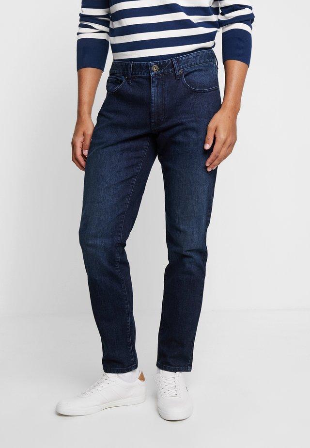 Jeans Straight Leg - navy blazer dark wash