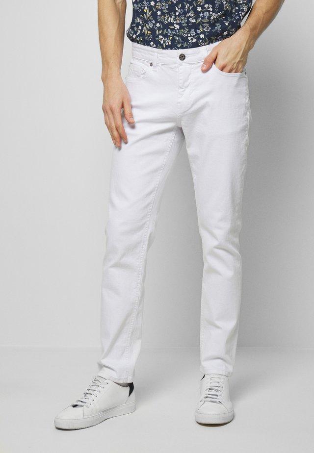 Straight leg jeans - bright white
