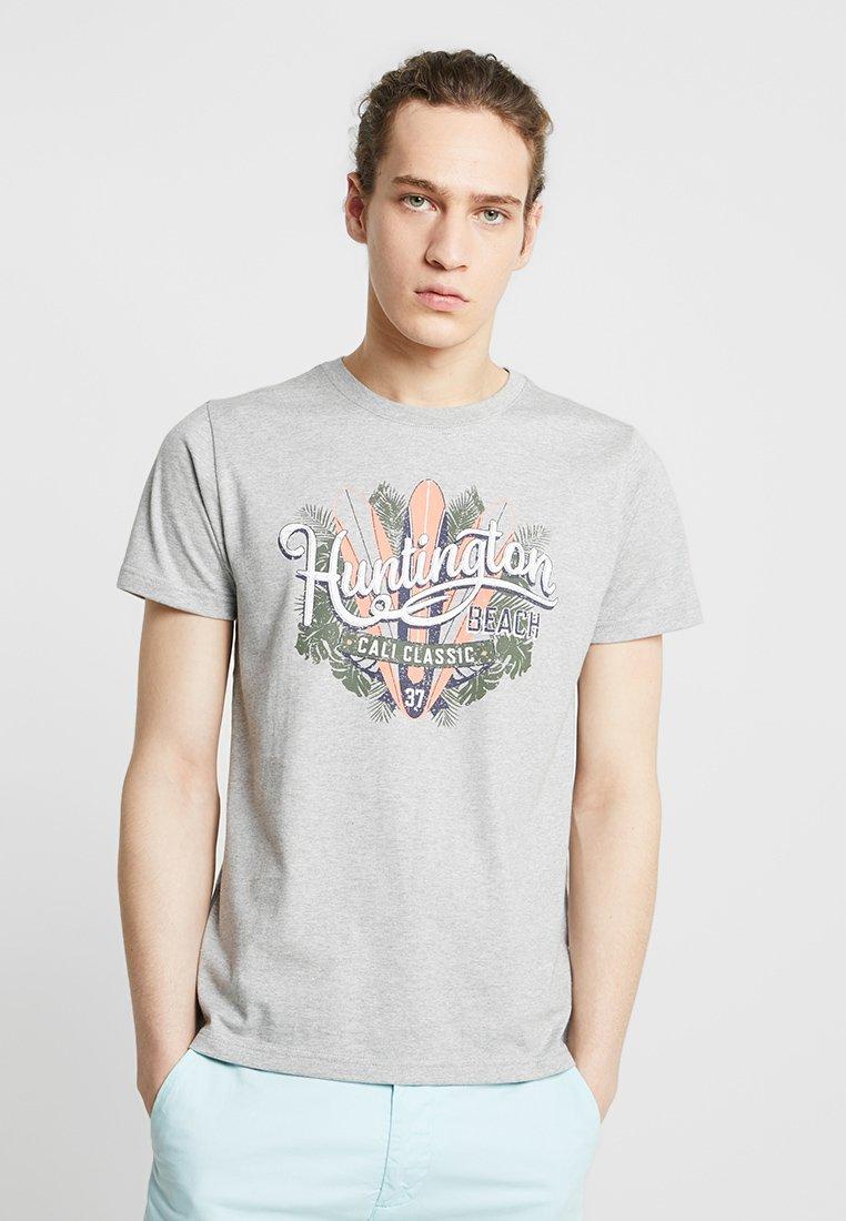 IZOD - T-Shirt print - light grey