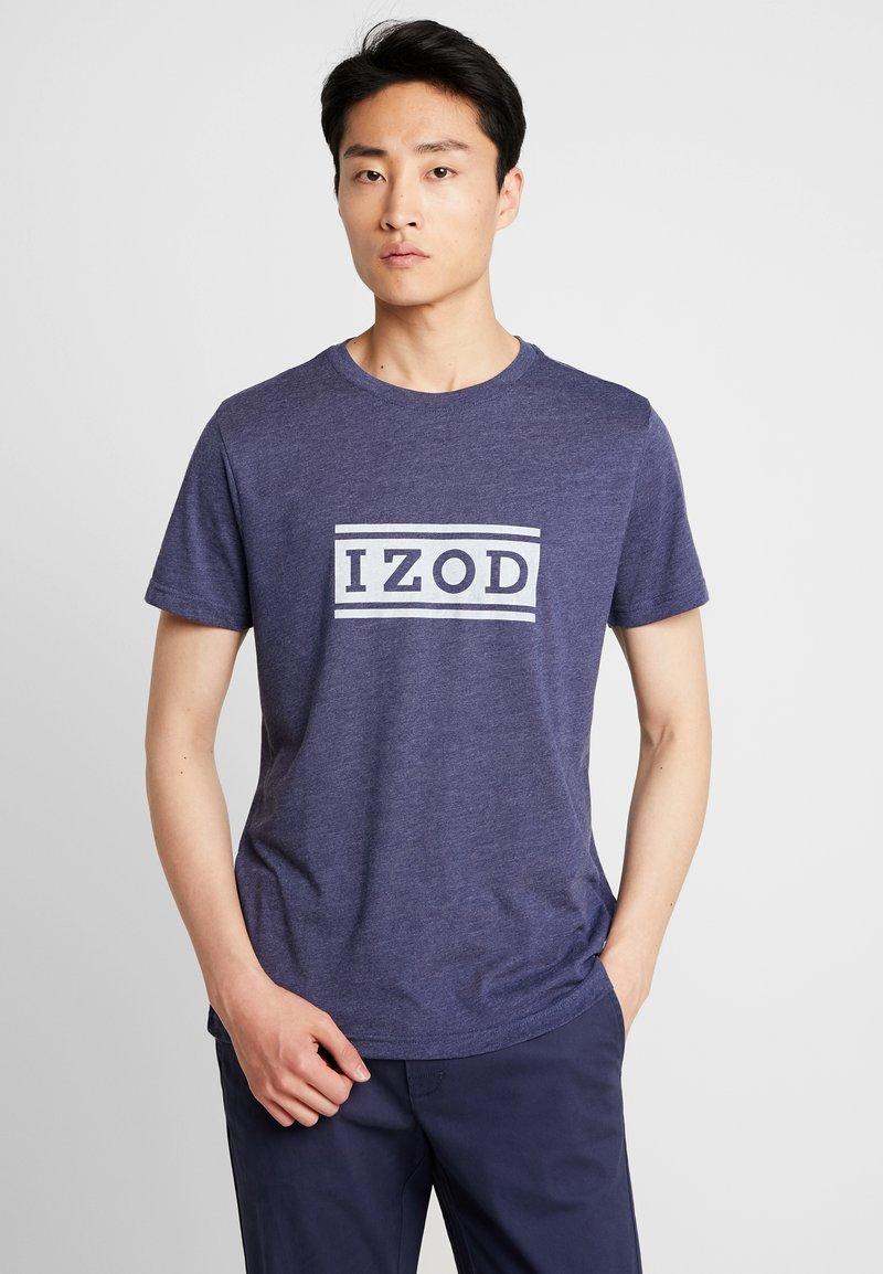 IZOD - Print T-shirt - peacoat
