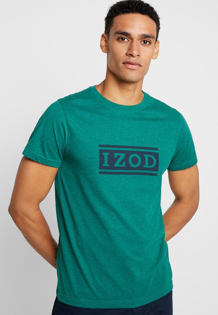 IZOD - T-shirts print - evergreen