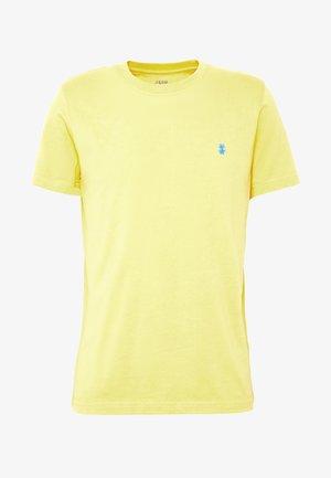 BASIC SOLID TEE - T-shirts - buff yellow