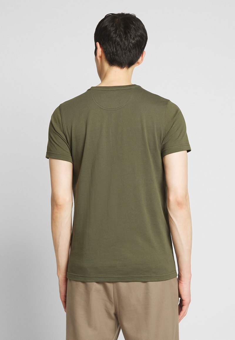 IZOD BASIC SOLID TEE - T-shirts - forest night