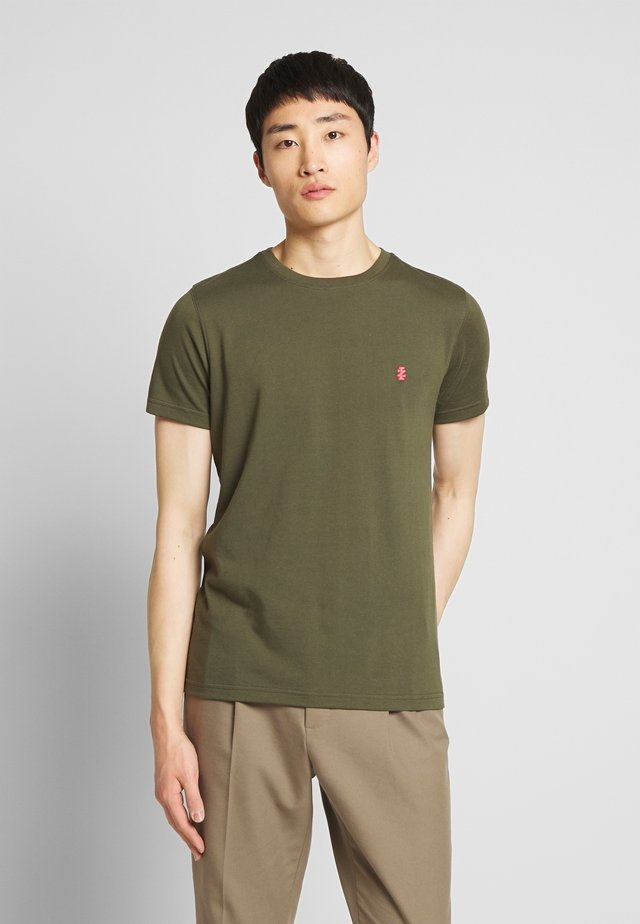BASIC SOLID TEE - T-paita - forest night