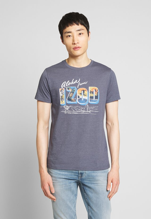 ALOHA GRAPHIC TEE - T-shirts print - anchor
