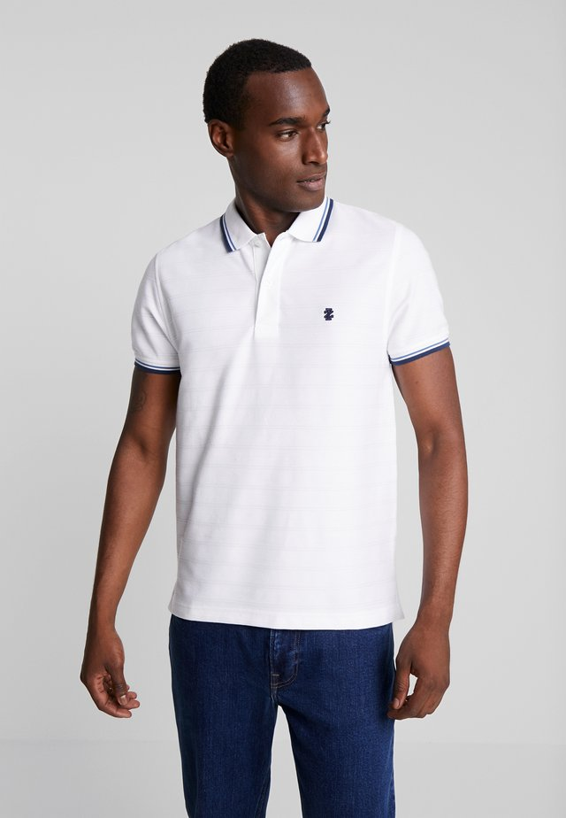 SOLID TIPPING  - Poloshirt - bright white