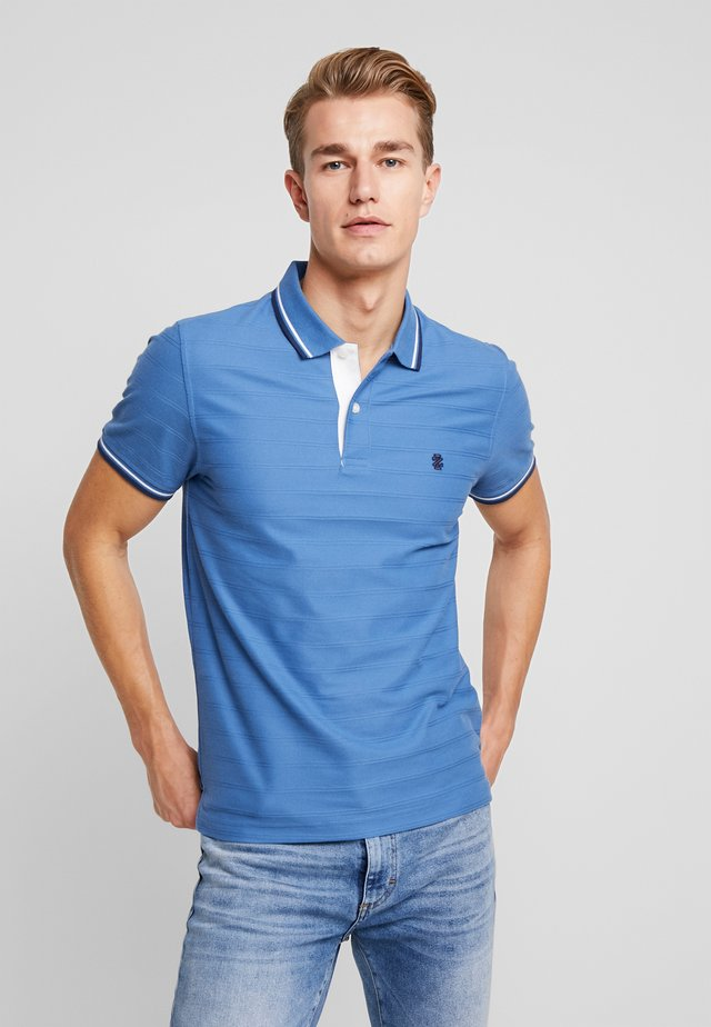 SOLID TIPPING  - Poloskjorter - ferderal blue