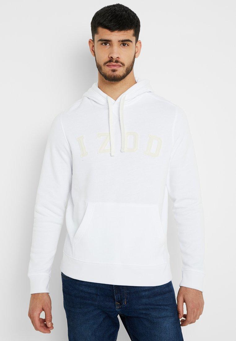 IZOD - HOODY - Jersey con capucha - bright white