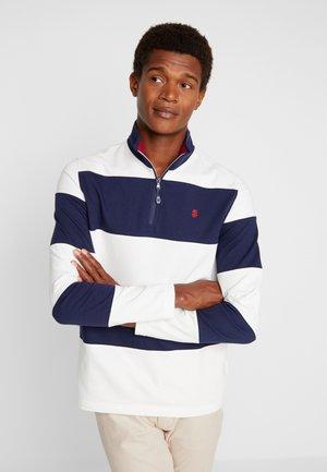 Sweatshirt - blue/white