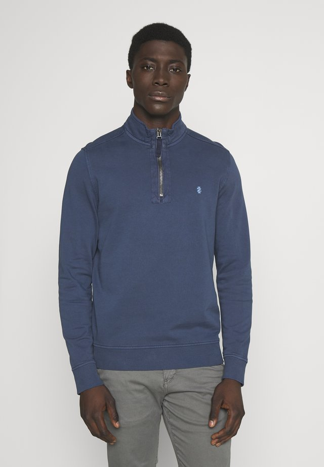 FRENCH TERRY ZIP - Sweater - cadet navy