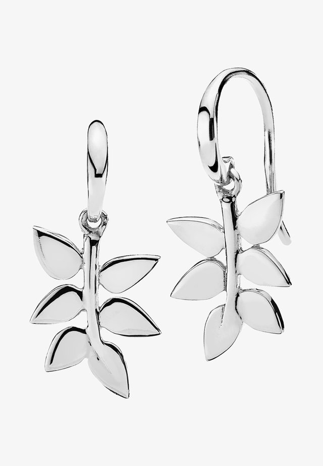 POETRY - Kolczyki - silver-coloured