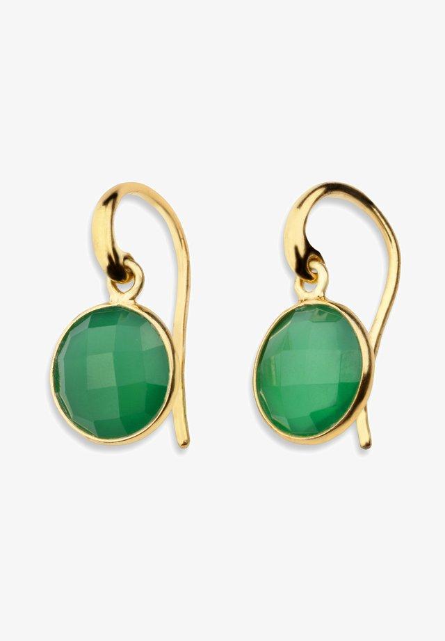 PRIMA  - Kolczyki - gold-coloured/green