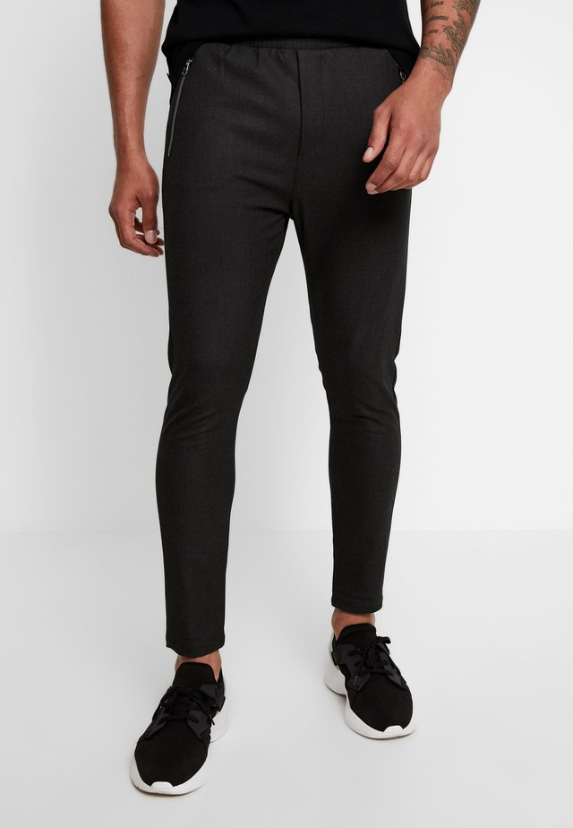 FLEX BISTRETCH - Trousers - antracite