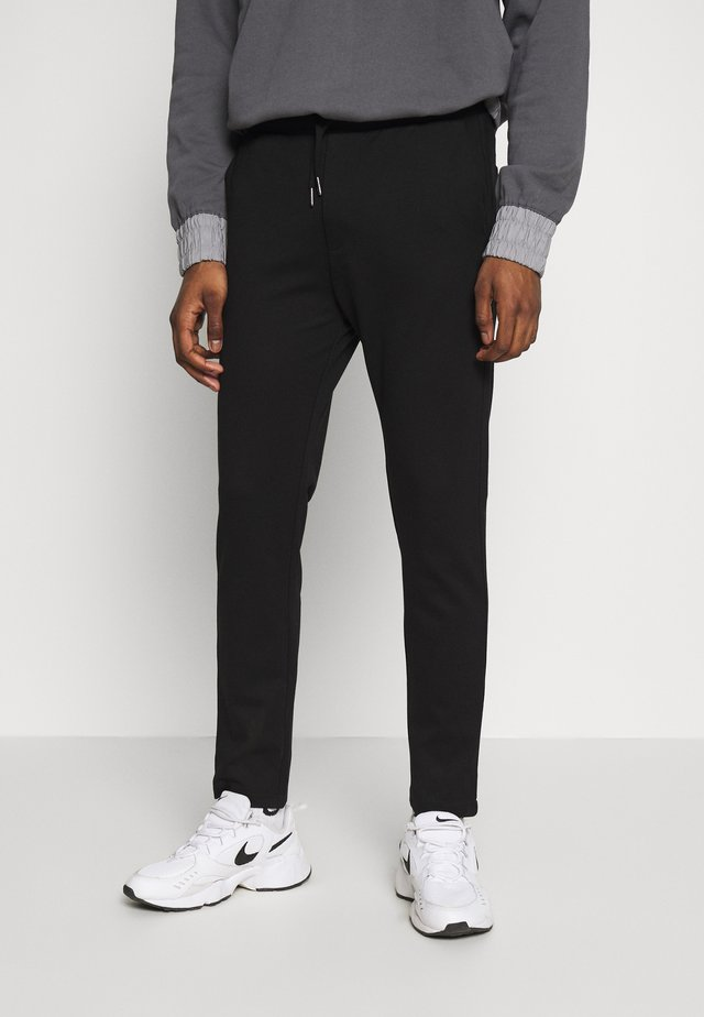 MAIN NEW PANTS - Trousers - black
