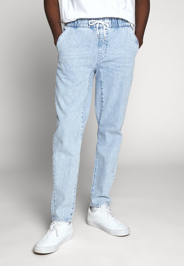 JOGGER PANT - Relaxed fit jeans - light blue