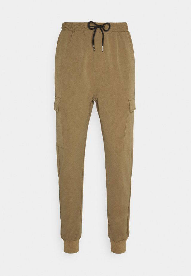 OLIVER - Cargo trousers - brown