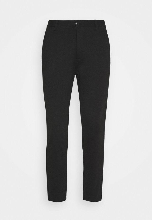 VERTY - Spodnie materiałowe - black