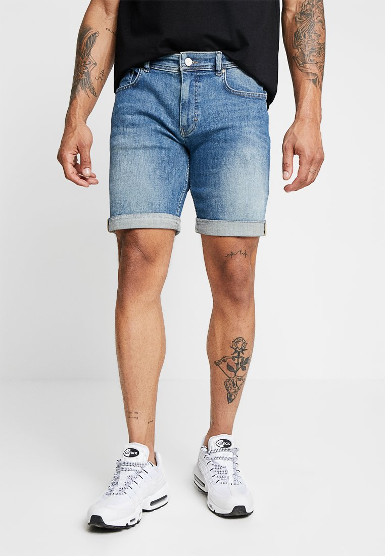 Just Junkies - MIKE - Jeans Shorts - element blue